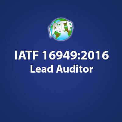 IATF 16949:2016主任审核员证书考试
