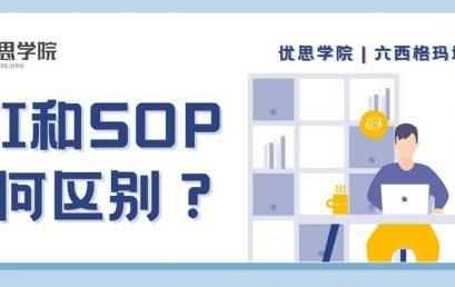 WI 和 SOP 有何区别?